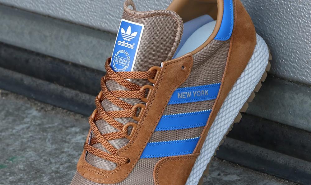 adidas New York Trainer Tan