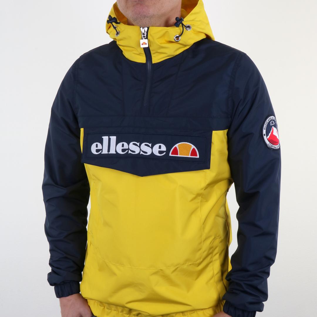 Ellesse Mont II Jacket Camo navy/yellow