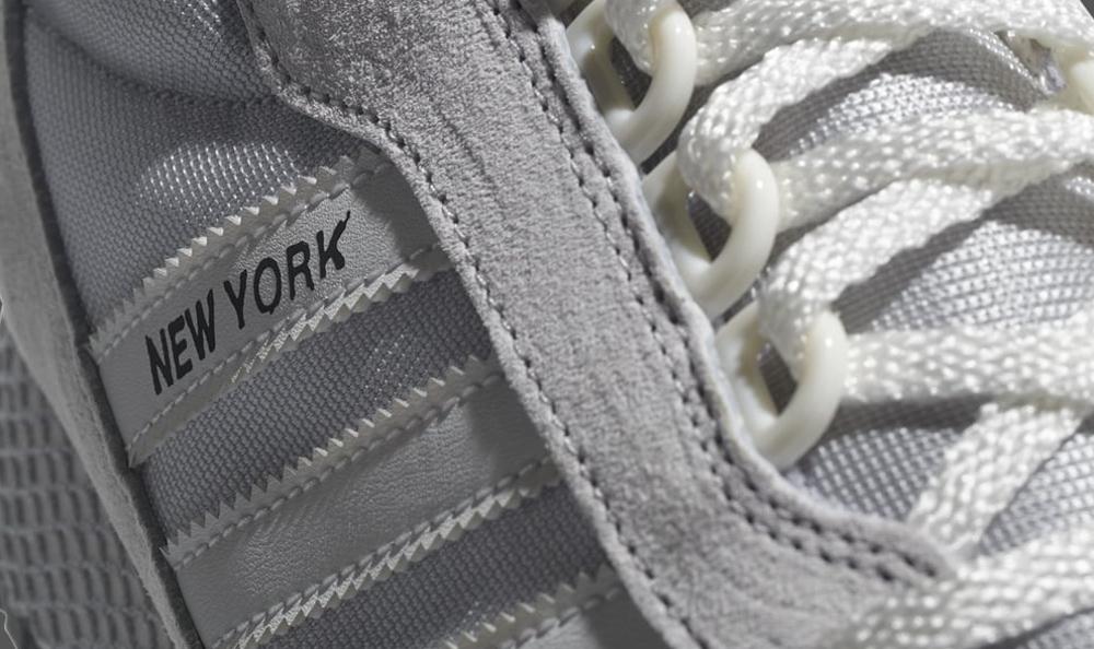 adidas new york trainer white grey