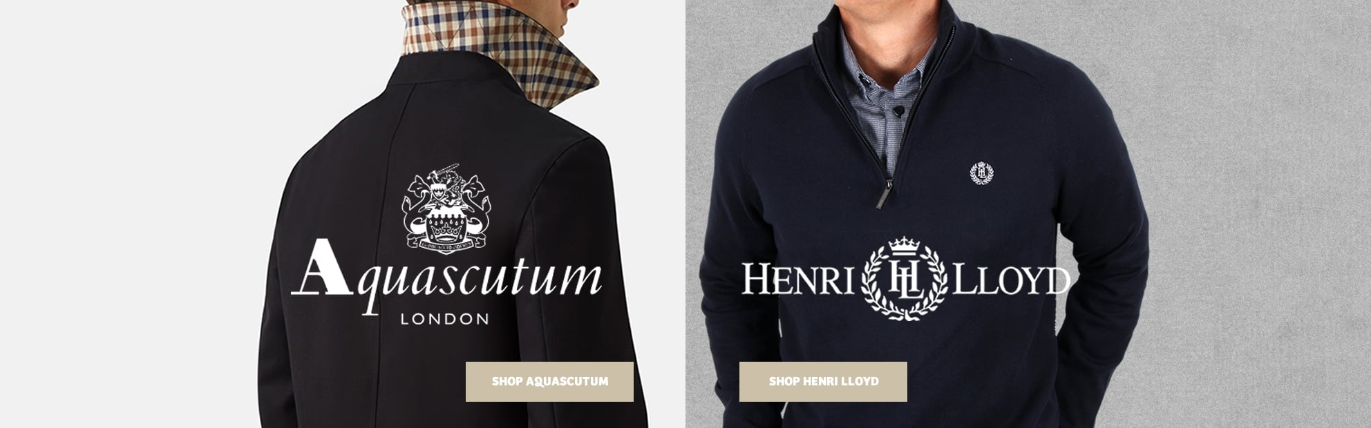 Aquascutum and Henri Lloyd