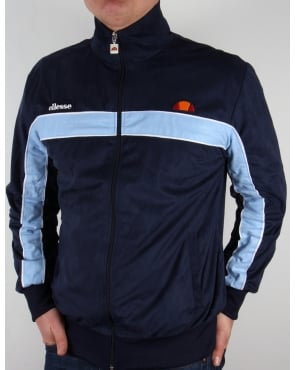 Ellesse Eiloso Premium Track Top Navy/royal Blue