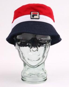 9c1ba43ecb1 Fila Vintage Casper Bucket Hat Navy - 80s hat