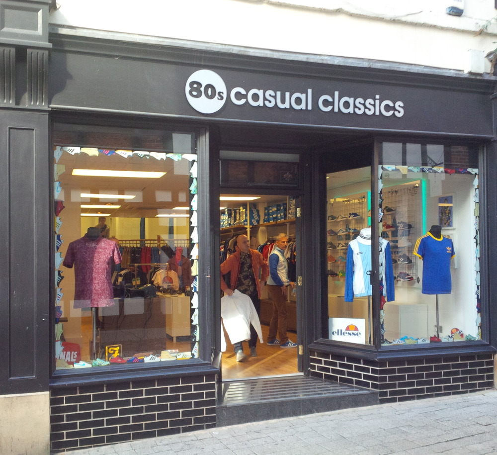 Neil Primett 80s casual classics