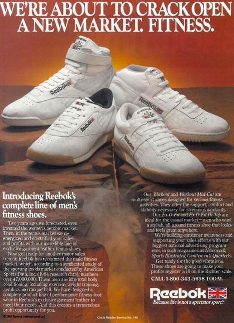 reebok 80s advert