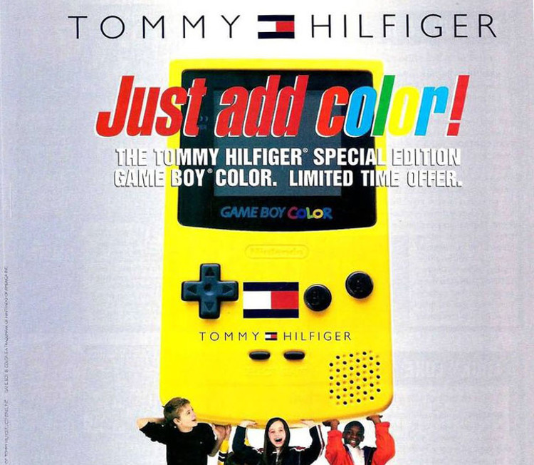 tommy hilfiger revival gameboy