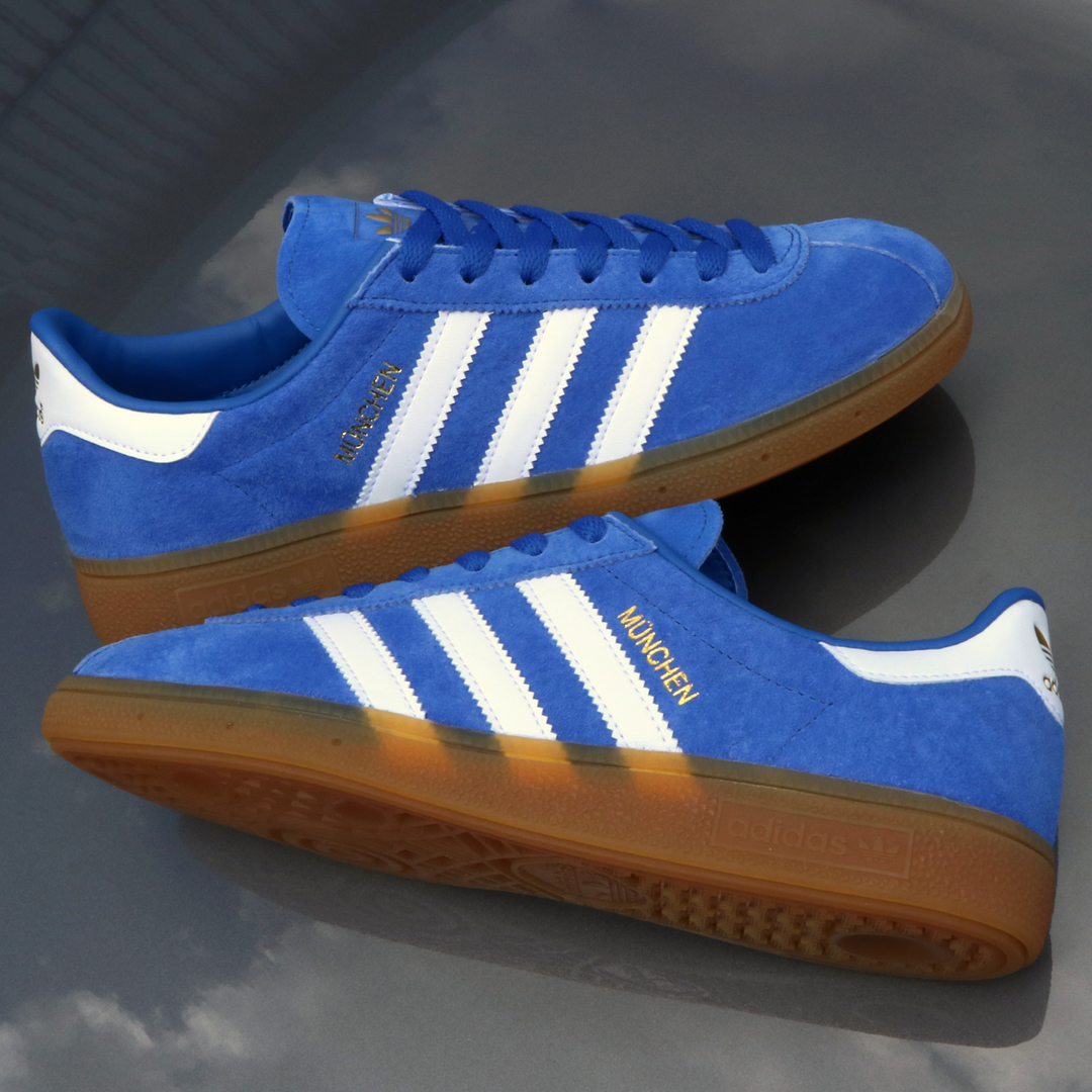 This Latest Version Of The adidas München Originated As A Japanese ... be510f14154b