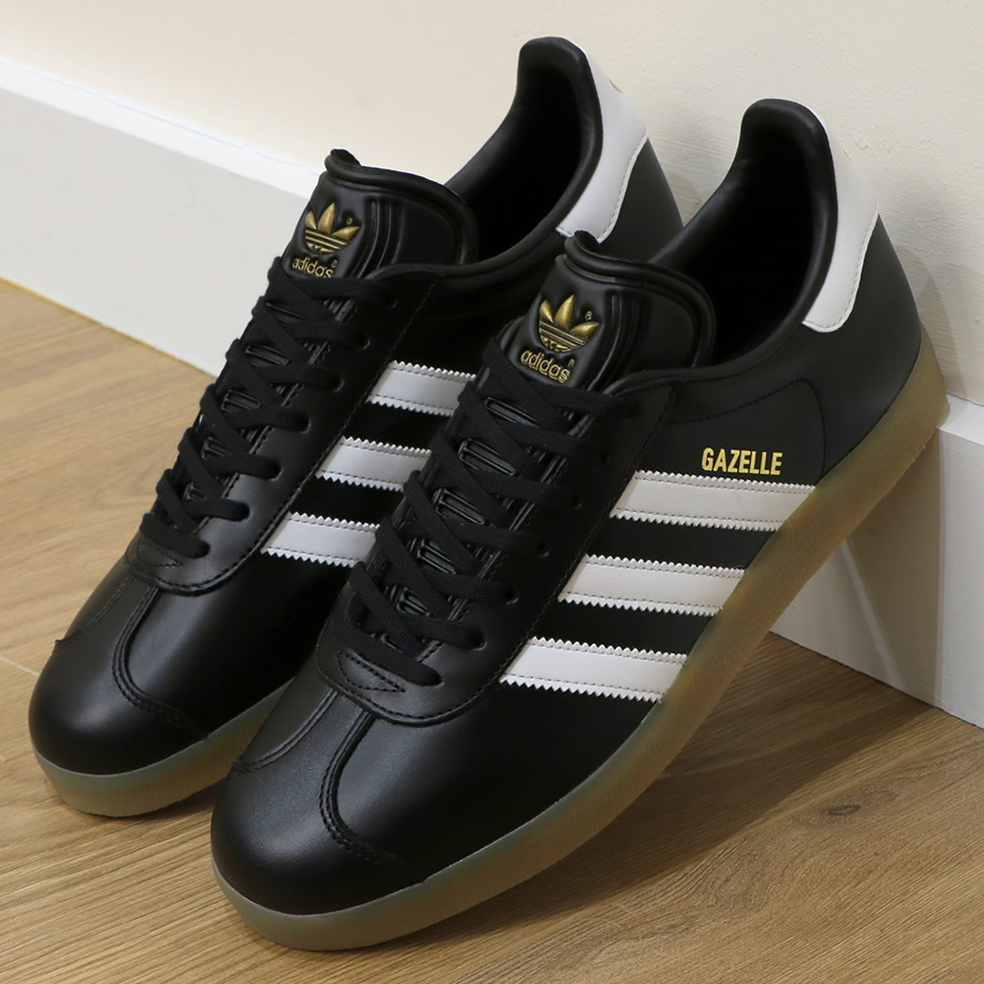 adidas Gazelle leather black