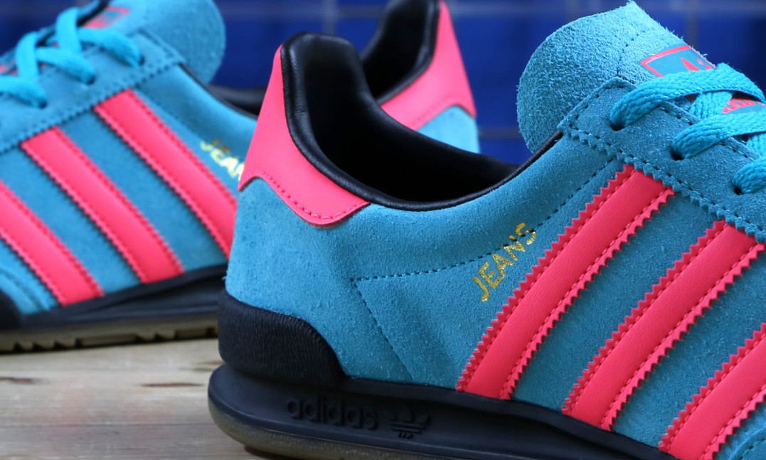 The adidas Jeans Trainer Gets The Neon Treatment