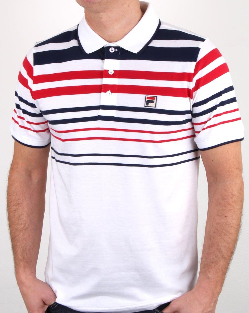 fila classics geza polo shirt