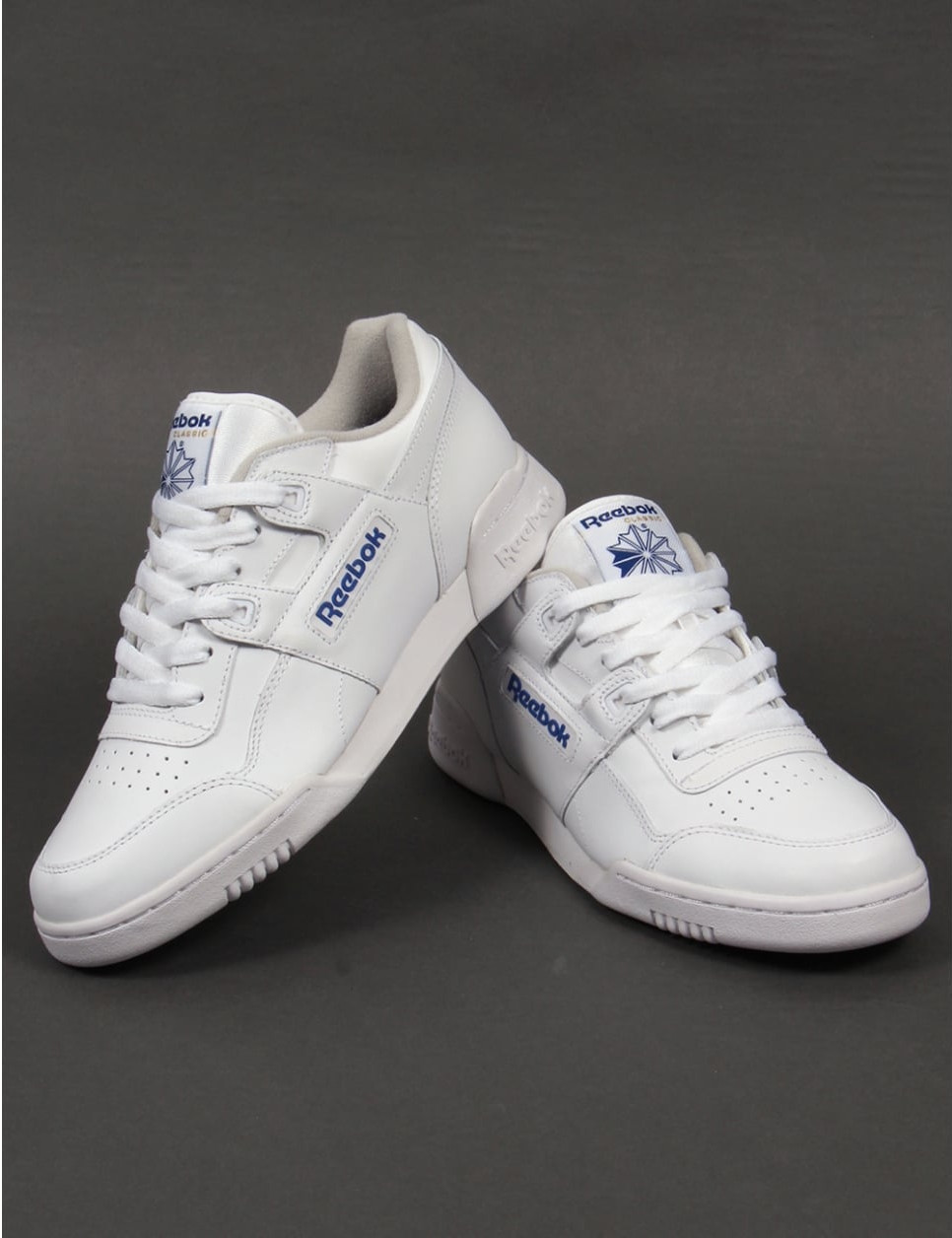 63be2eb0294 It ll Be All White On The Night With These Classics From Reebok ...