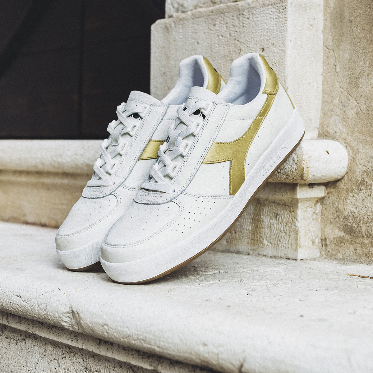 Diadora Borg Elite Trainer Gold