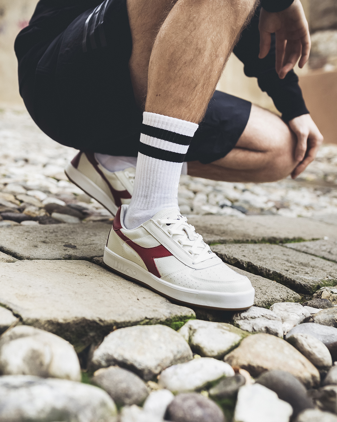 Diadora Borg Elite Trainer Red