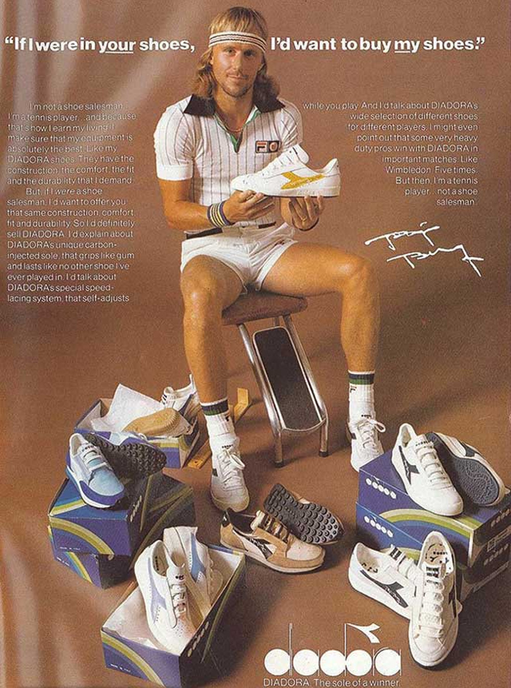 Diadora Borg Elite Trainer