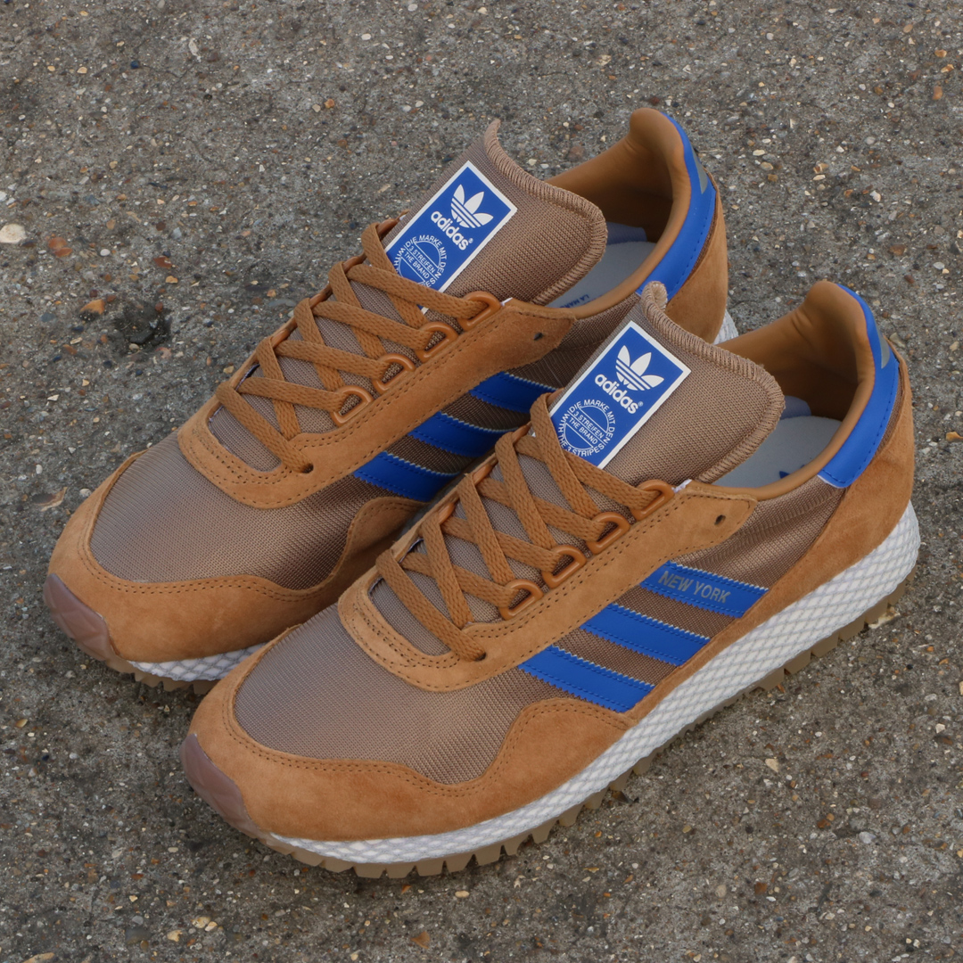 adidas New York Trainer tan/blue
