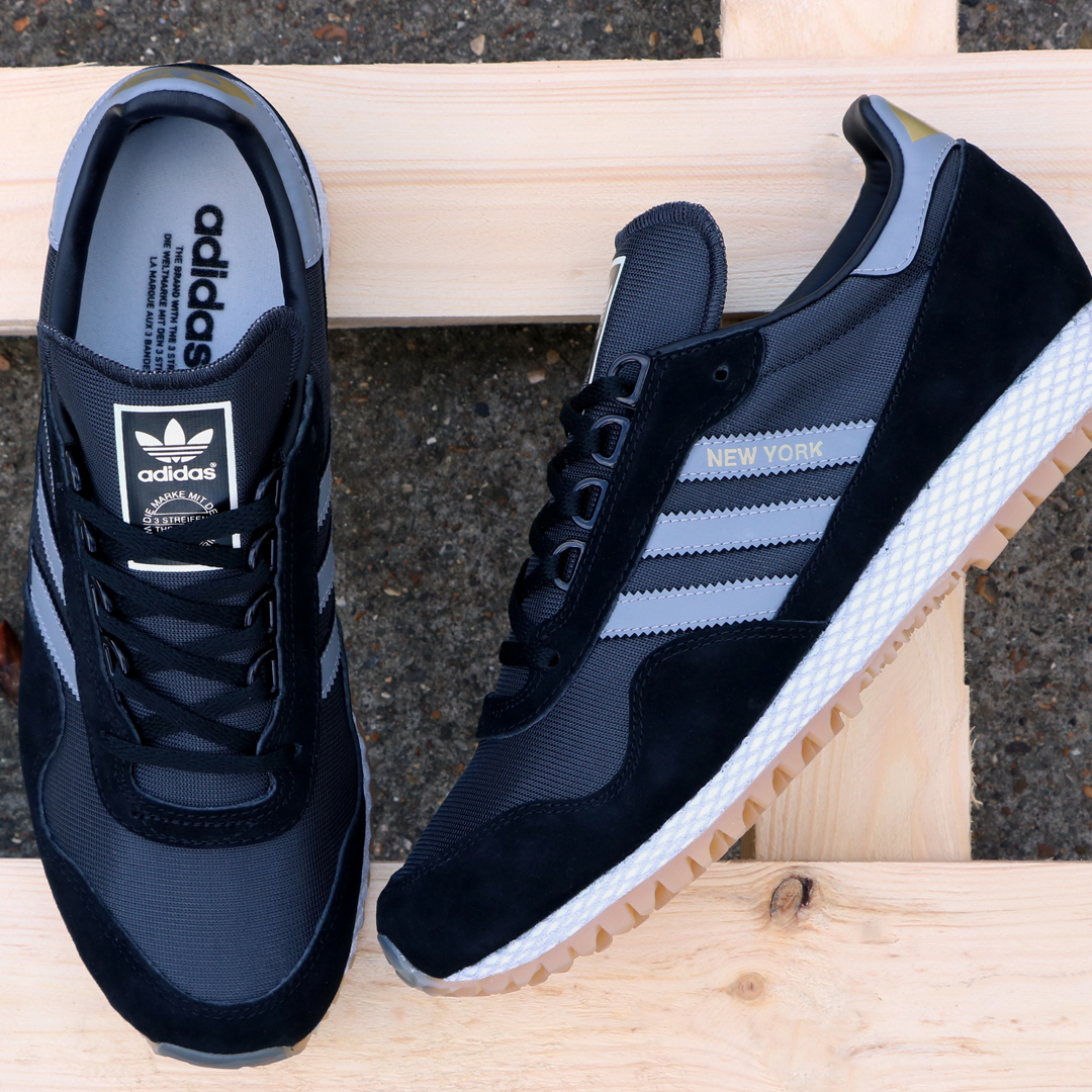 adidas New York trainer black/grey