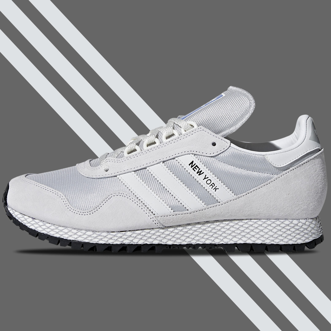 adidas New York Trainer Crystal White