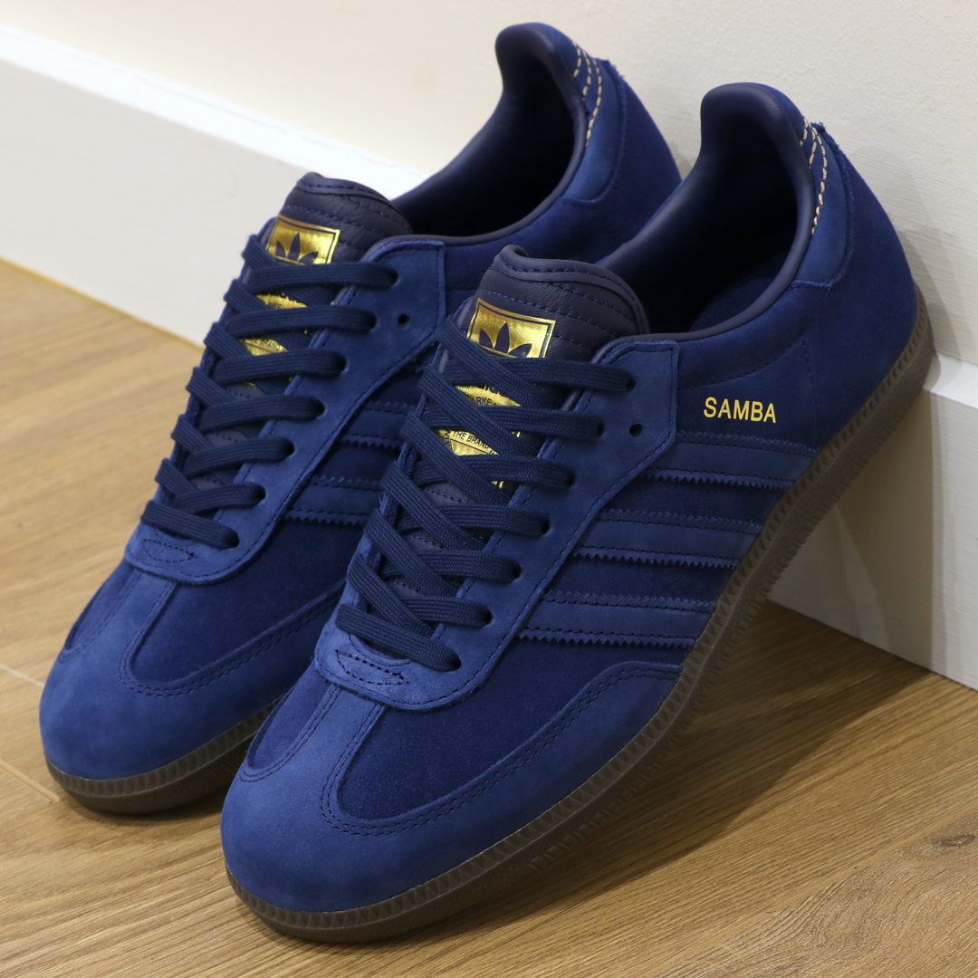 f8afc7385b87 The adidas Samba Trainer Gets The Premium Rich Suede Treatment ...