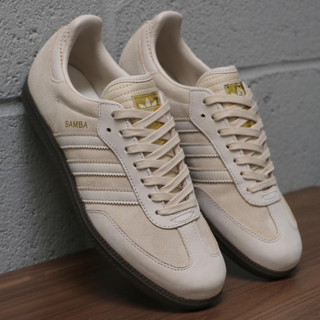 adidas Samba Suede Vintage White