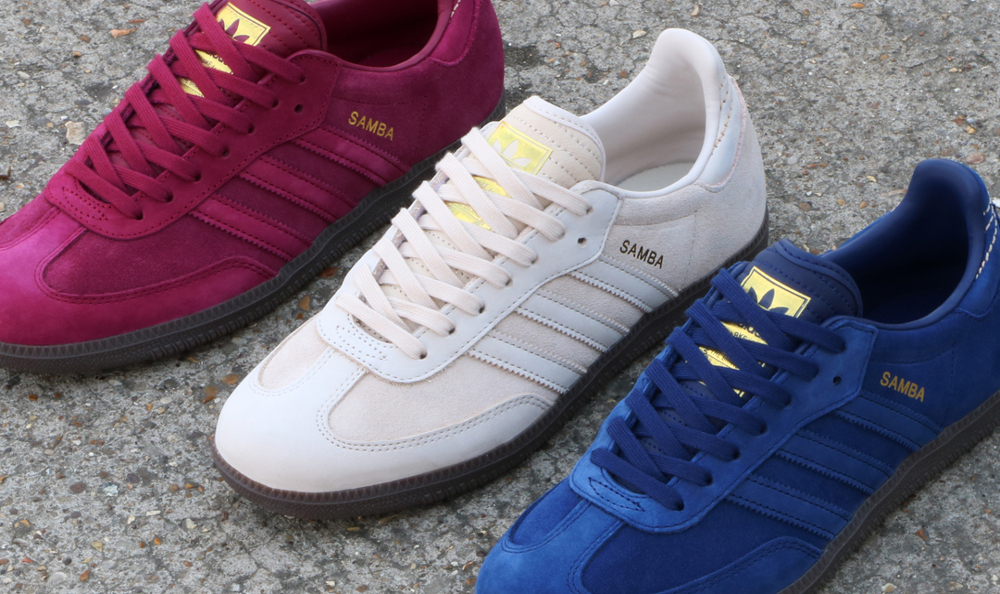 The adidas Samba Trainer Gets The Premium Rich Suede Treatment - 80 s  Casual Classics80 s Casual Classics 934ec1718