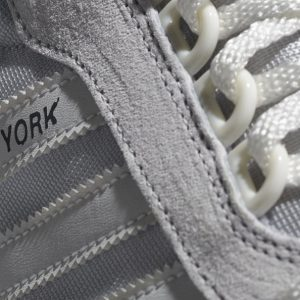 adidas new york trainer white grey