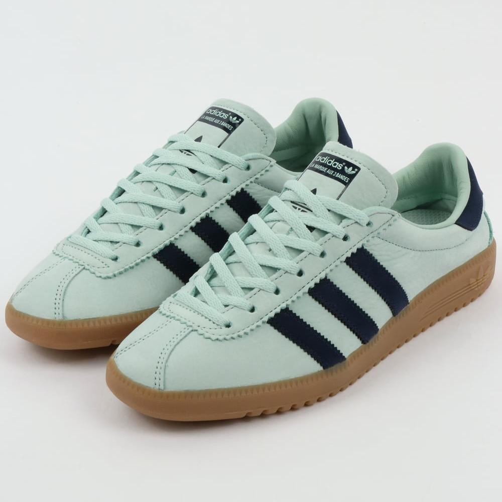 adidas bermuda trainer ash green