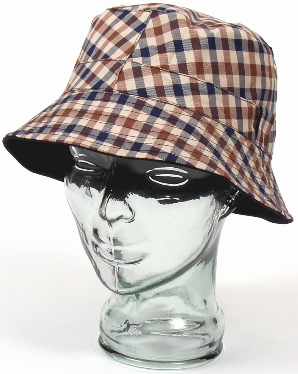 Aquascutum Club Check Bucket Hat