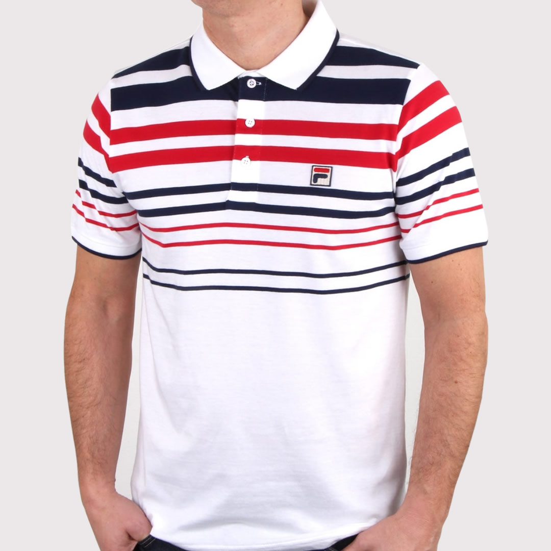 Fila Gezza Polo Shirt in White