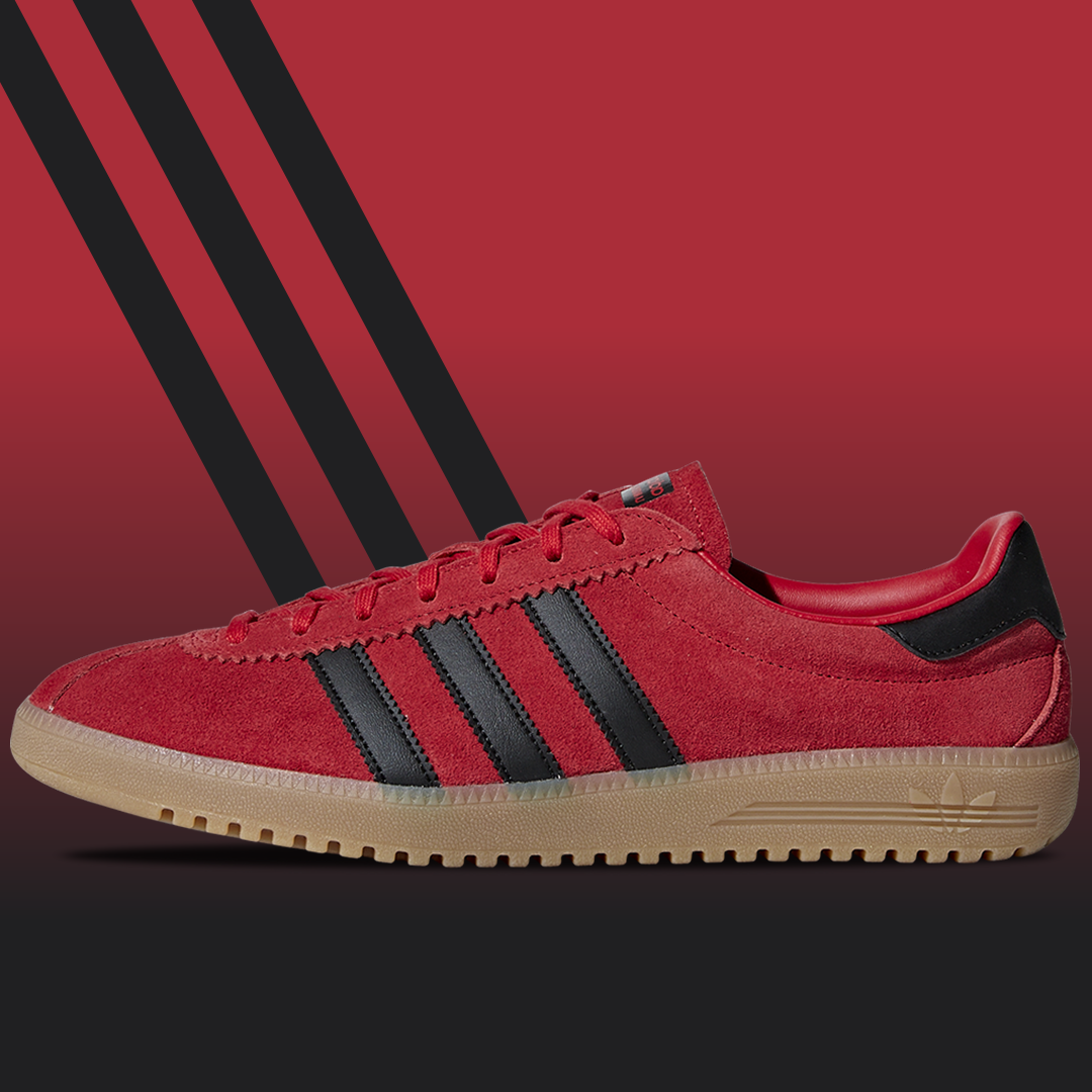 adidas Bermuda red/black
