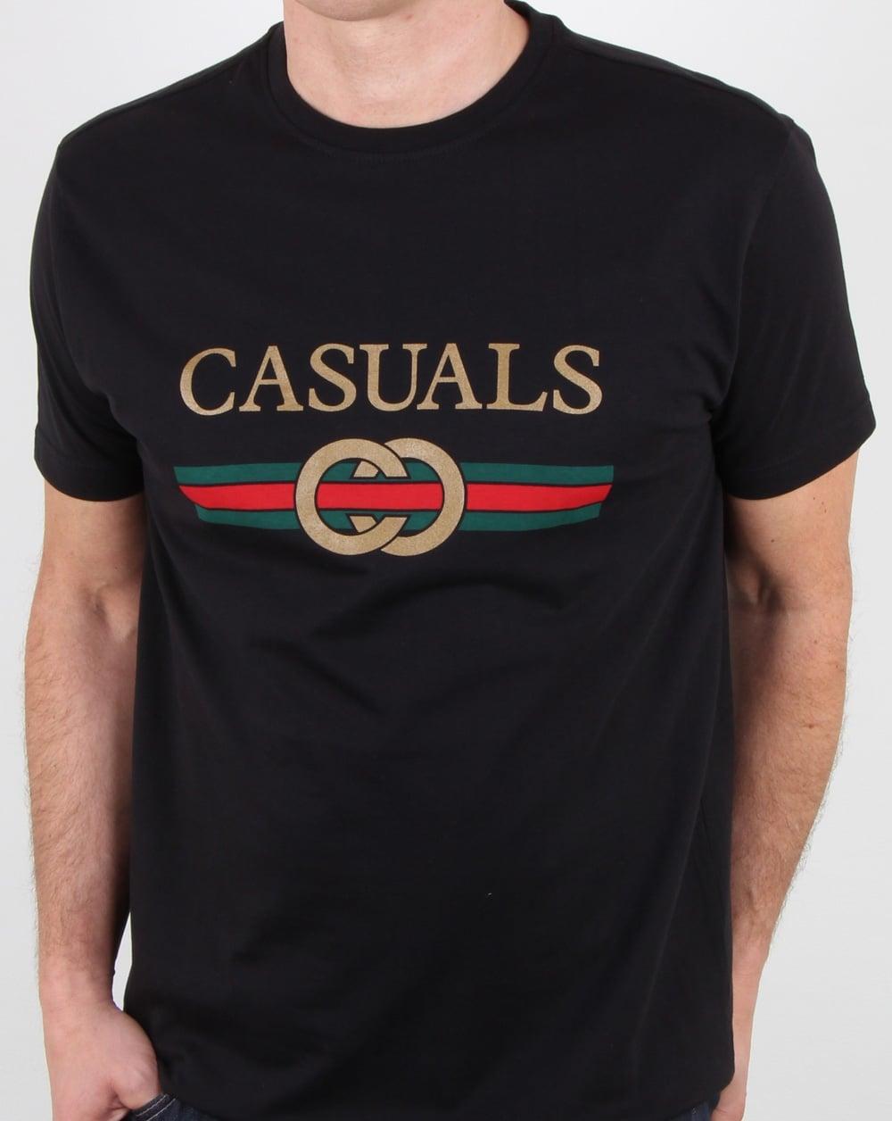 designer casual t-shirt gucci