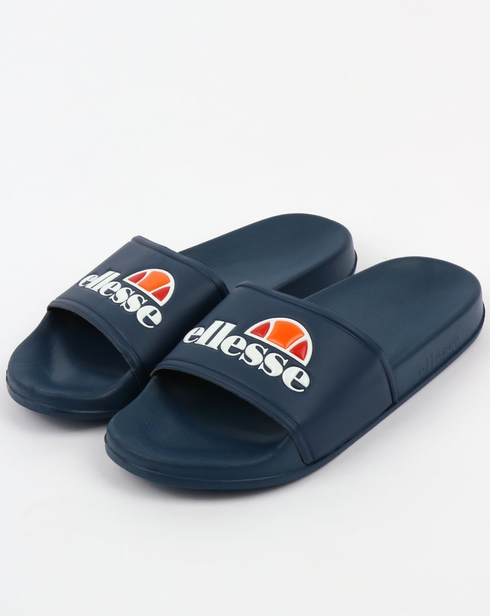 f0897ccab7dc Above  The Ellesse Fillipo slides in navy now available at 80s Casual  Classics.