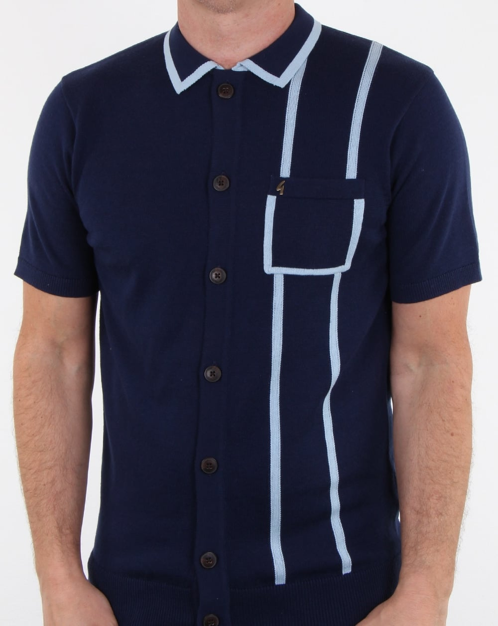 Gabicci Vintage Enquirer Polo Shirt