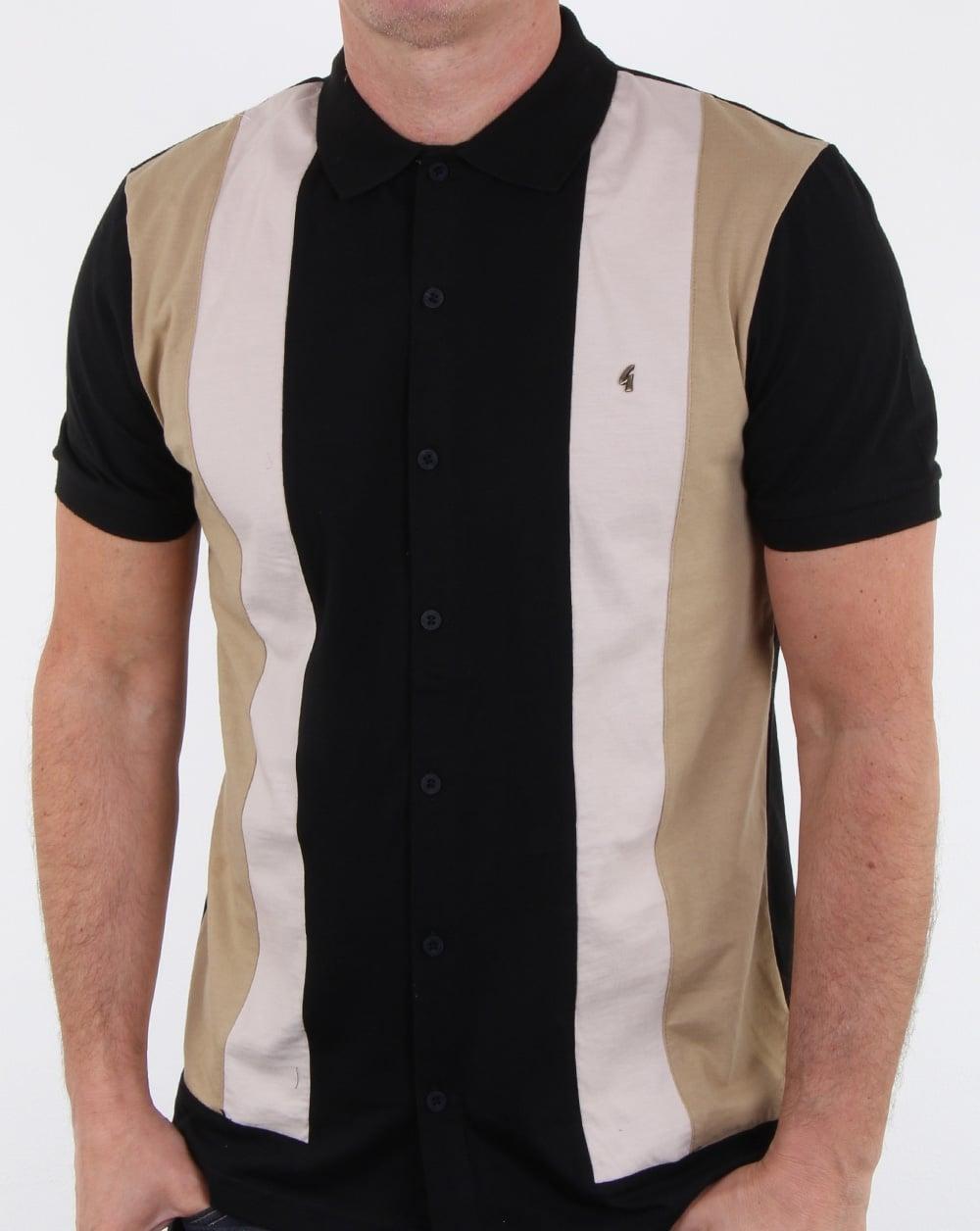 Gabicci Vintage Pulp Polo Shirt