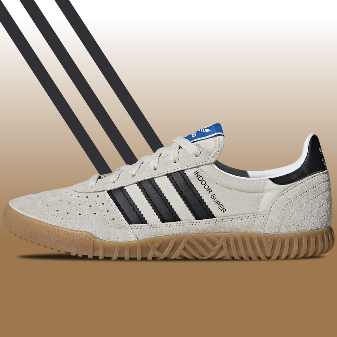 intercambiar Monica Ser amado  The adidas Indoor Super Was First Born On The Squash Courts - 80's Casual  Classics