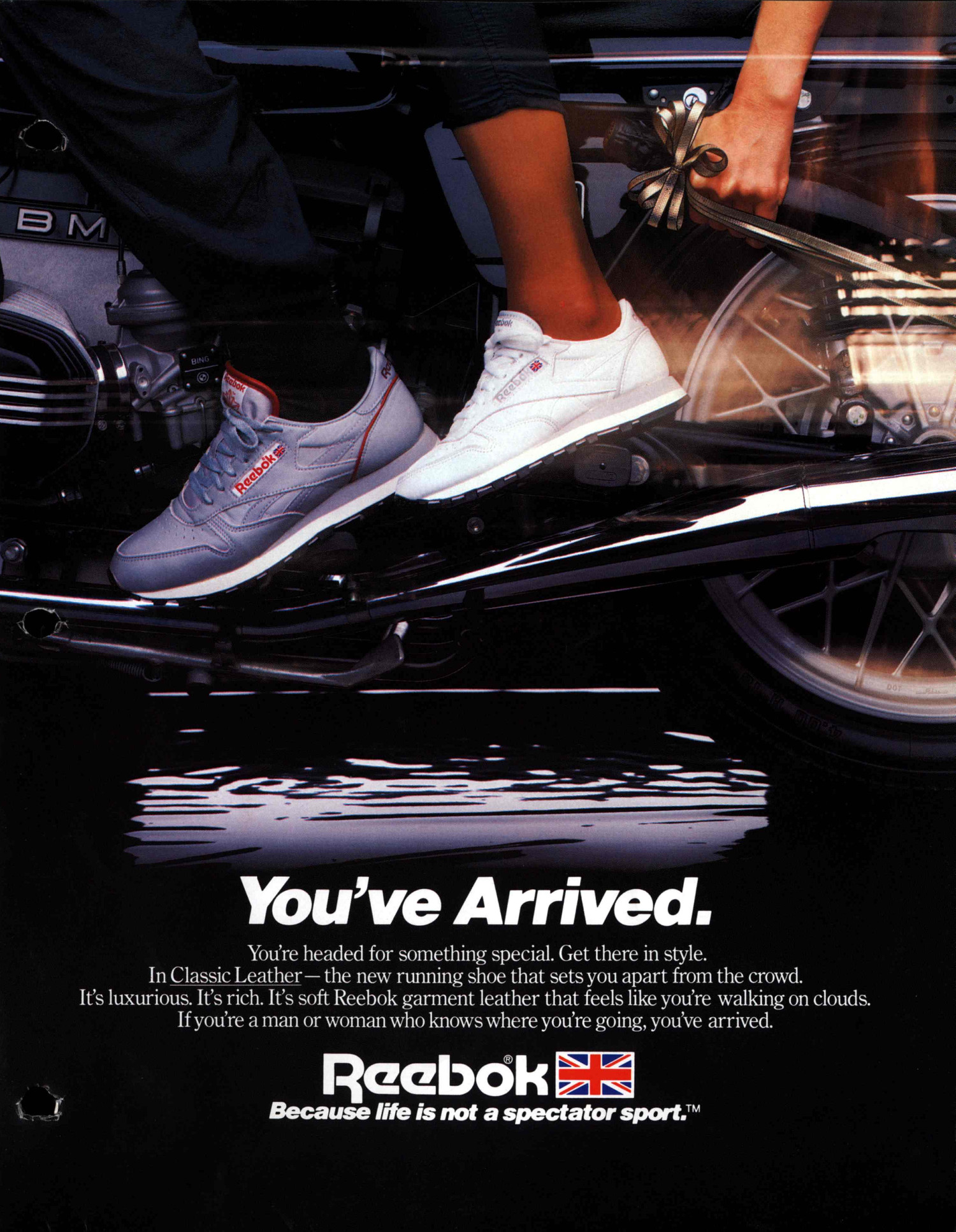 reebok classic advert