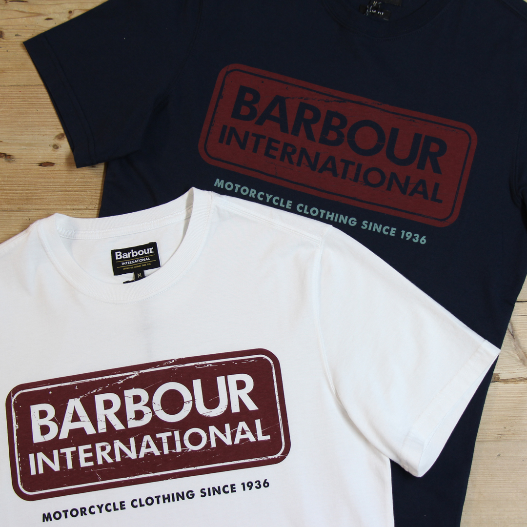 Barbour International Logo T-Shirts
