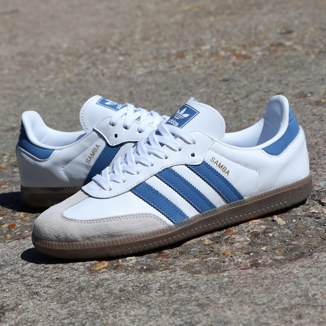 adidas Samba OG White Trace Royal