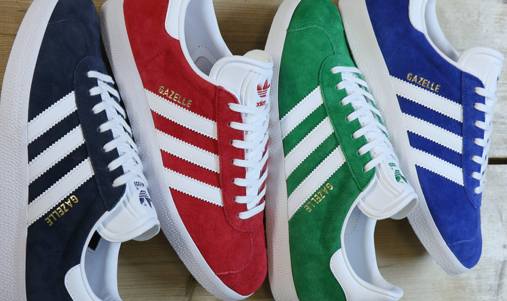 Is Classics80's Addias Casual Classic Gazelle 80's Classics The Silhouette Super A Suede 7EwHvanaq