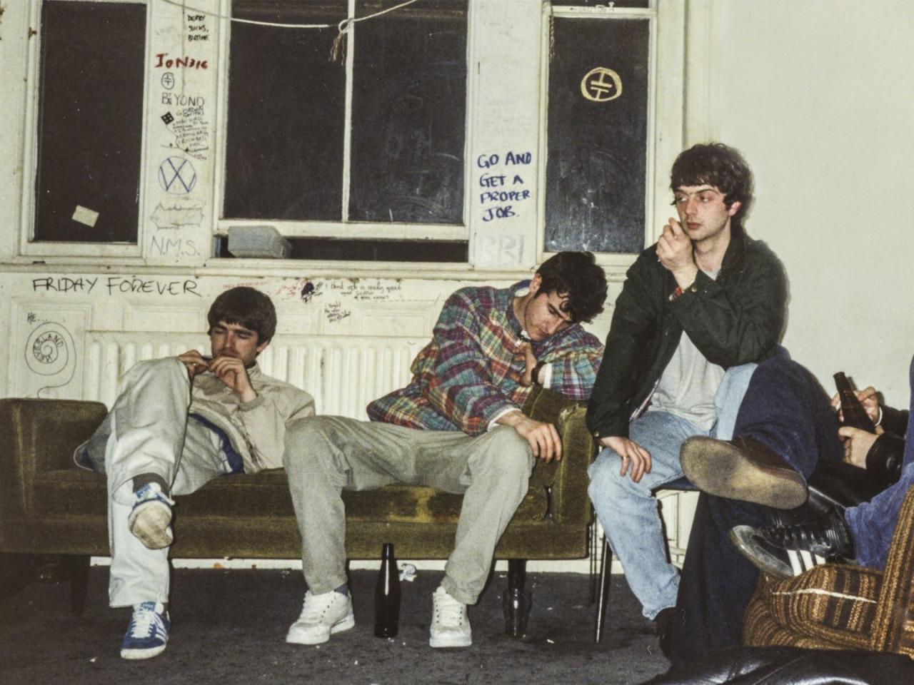 oasis Noel Gallagher adidas Gazelle