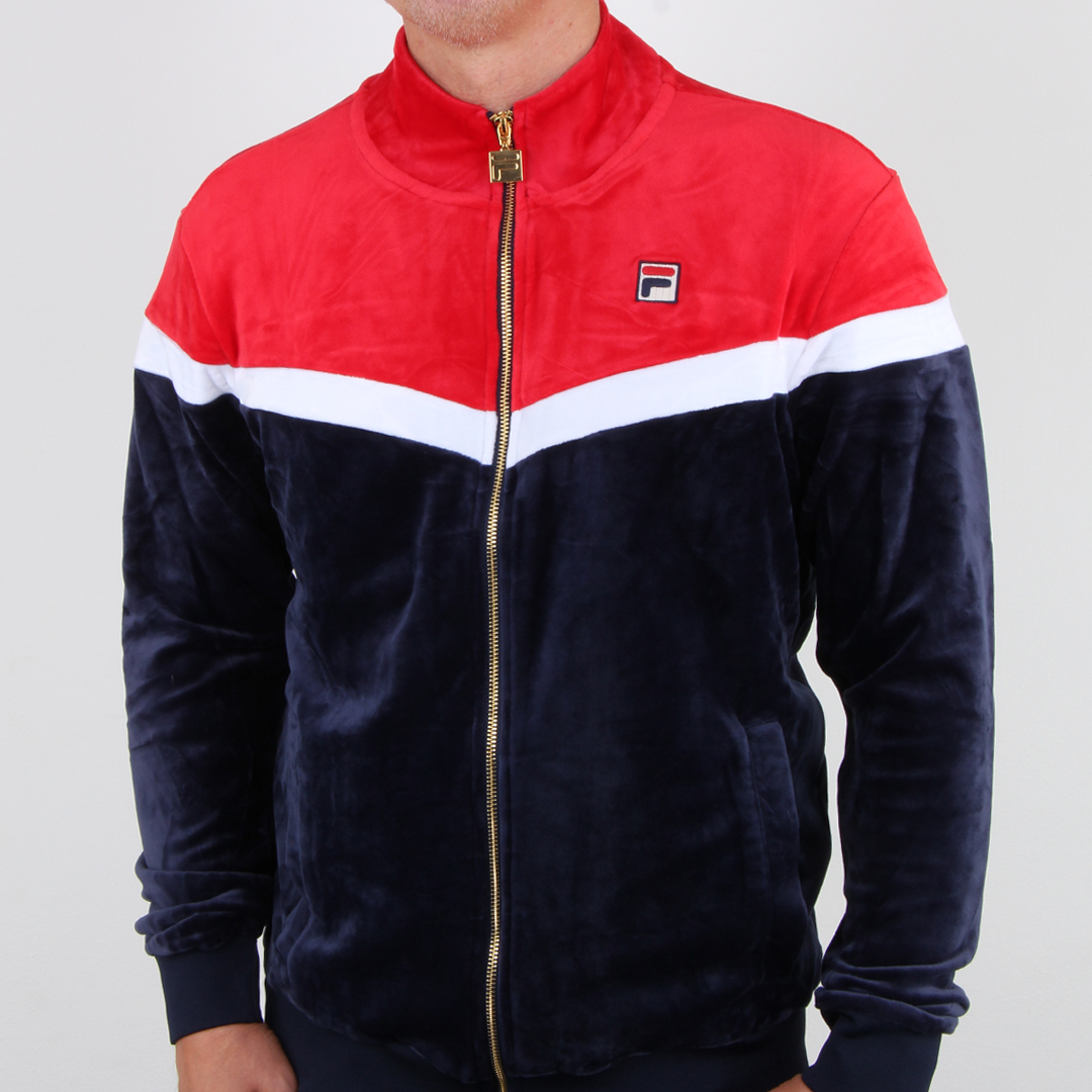 Fila Vintage Harry Velour Track Top