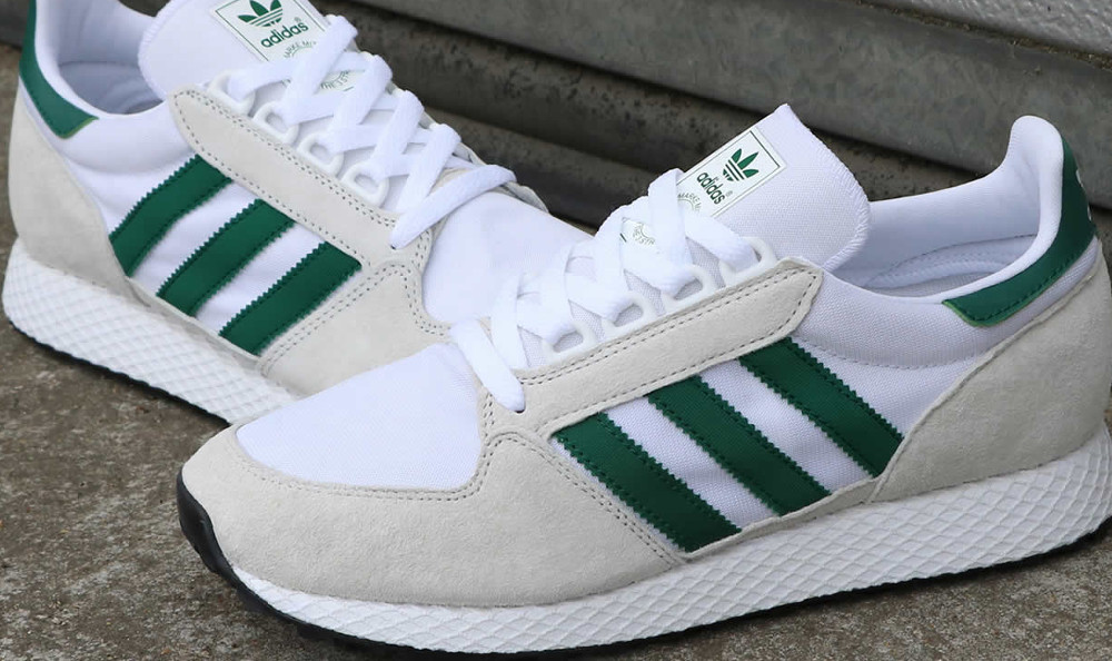 new style 2079f 19d9b The adidas Forest Grove Trainer Might Remind You of Something Else... -  80 s Casual Classics80 s Casual Classics