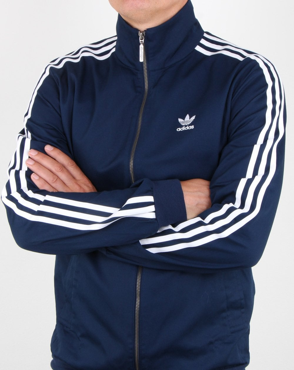 adidas Beckenbauer track top navy