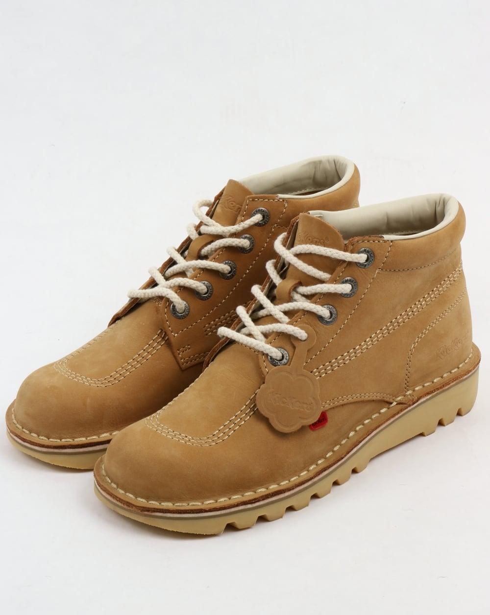 Kickers Kick Hi Boots nubuck tan