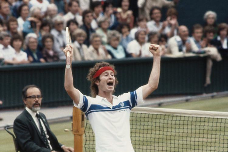 John McEnroe Wimbledon 1982