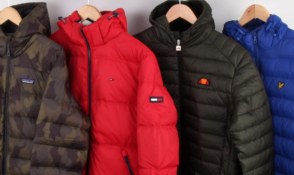 Get Down On It - Winter Down Jackets At 80s Casual Classics