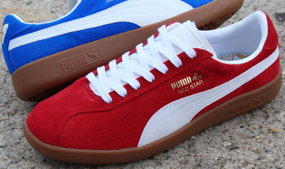 The PUMA Red Star Trainer is Revived From The PUMA Archives In True Retro Style