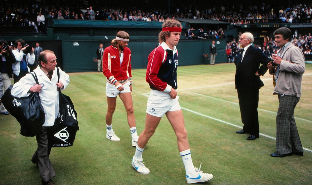 Classic Sergio Tacchini Track Top Styles As Worn By The Tennis Legend Himself