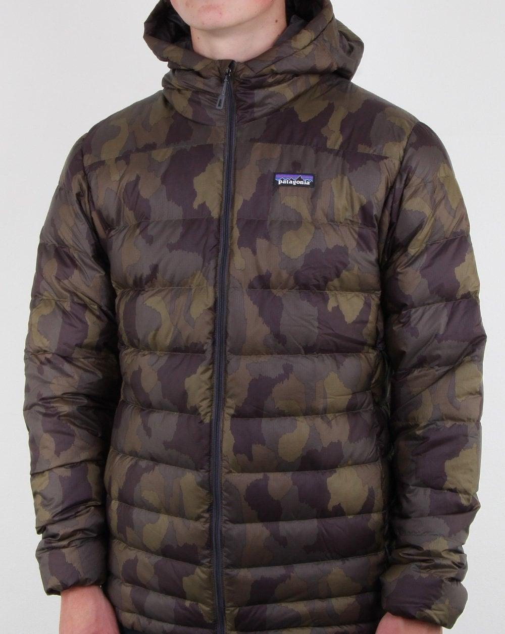 Hi Loft Patagonia Down Jacket Camo