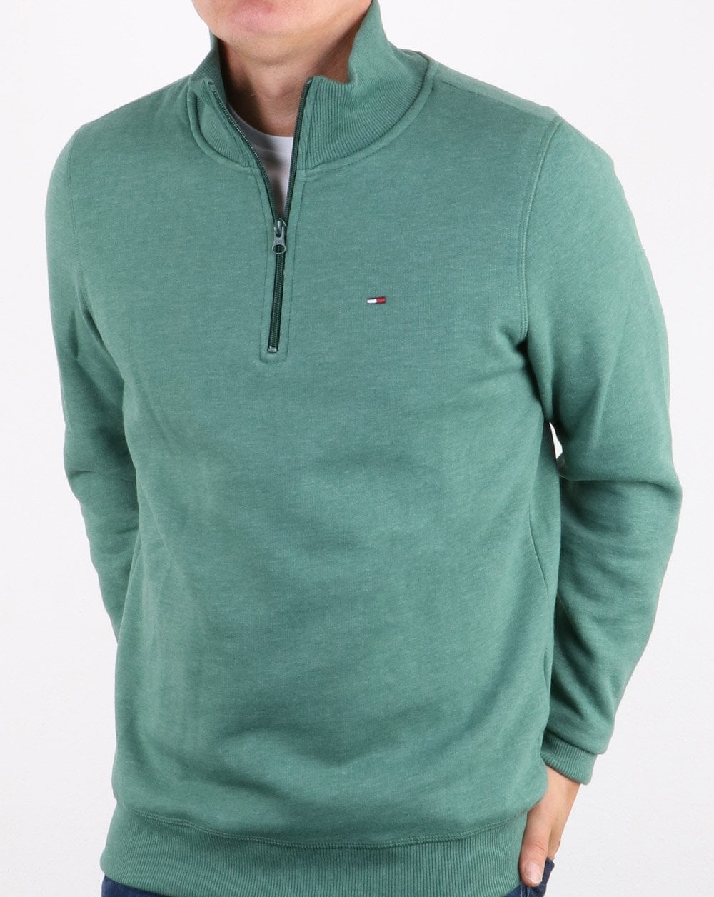 Tommy Hilfiger Quarter Zip Jumpers