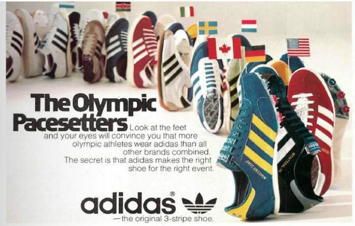 adidas Montreal 76 Olympic advert