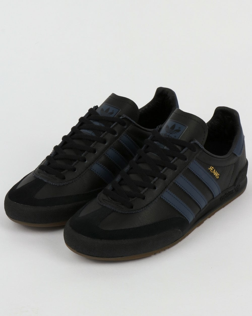 adidas Jeans Leather Black